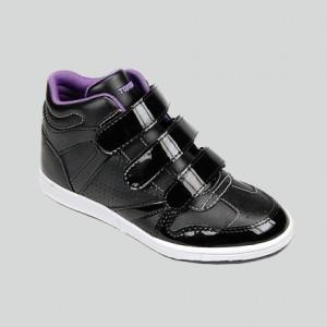 Sepatu Anak Tomkins Kiss Black Purple