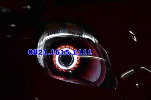 harga Custom Headlamp Yaris Projector AES Hid / Drl / Angel Eyes Tokopedia.com