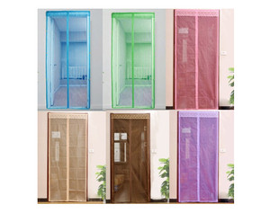 harga TIRAI PINTU MAGNET ANTI NYAMUK / MAGNETIC CURTAIN MAGIC MESH PENGUSIR Tokopedia.com
