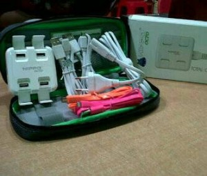harga Hippo Travel Charger Octo 4 port usb + cable Tokopedia.com