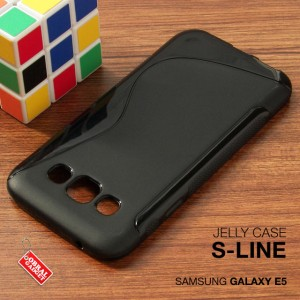 Samsung Galaxy E5 Soft Jelly Gel Silicon Silikon TPU Case Softcase