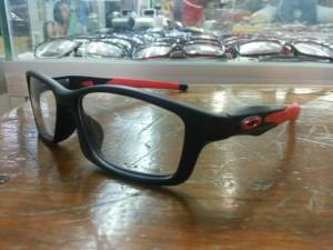 frame kacamata baca merek oakley crosslink black ducati