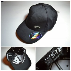 a3ff1977d ... best price topi hats oakley flexfit smal logo gas can black regular  c3826 b8e3d