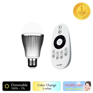 Milight Lampu Pintar LED 5-White 9W Paket 1 Pcs + Remote Control 1 Pcs