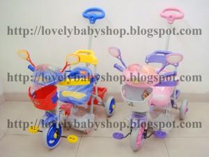 harga Tricycle (Sepeda Roda Tiga) Family 5983 Polisi Tokopedia.com