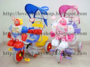 harga Tricycle (Sepeda Roda Tiga) Family 845FT Robot Shockbreaker Tokopedia.com