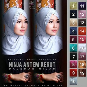 harga Ciput Ninja Antem Kerut (NAK) Tokopedia.com
