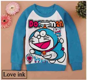 Sweater Anak Doraemon Blue Fly