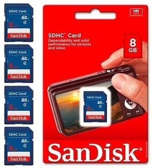 SanDisk SD Card / SDHC 8GB Class 4