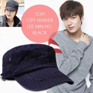 harga Topi City Hunter Lee Min Ho Black Tokopedia.com