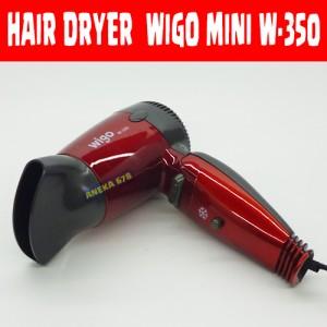 Jual HAIR DRYER WIGO MINI W 350 FOLDABLE HAIRDRYER W350
