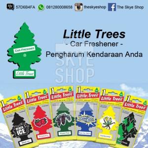 Little Trees Car Freshner Pengharum Mobil Rasa Black Ice Cek Harga Source · Little Tress Car