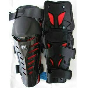 Decker Pelindung Lutut FOX Raptor / Knee Protector FOX Raptor MERAH
