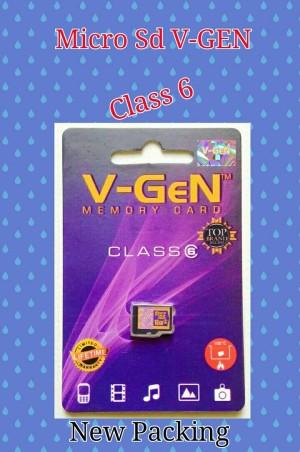 V-Gen MicroSD/Memori Card/Kartu Memori 4GB