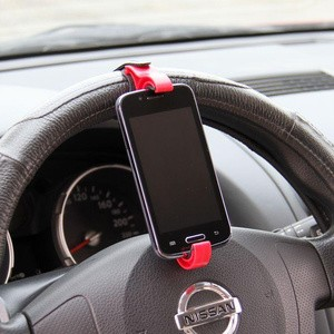 HANDPHONE HOLDER SETIR MOBIL CAR SETIR STEERING WHEEL MOBILE HOLDER