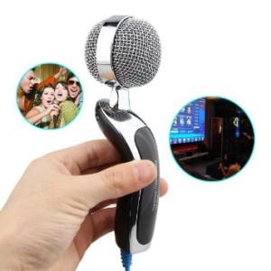 harga New 3.5mm Singing Karaoke Microphone Mic PC Laptop MSN Skype VOIP 2015 Tokopedia.com