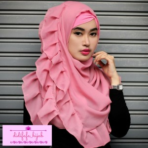 harga HIJAB SEGI EMPAT RENDA POLOS didifafa_hijab Tokopedia.com