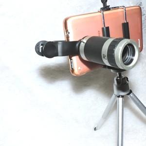 Lensa telescope 8x / telezoom Clip Mini Tripod holder U