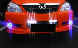 harga Foglamp projector angel eyes Biru Tokopedia.com