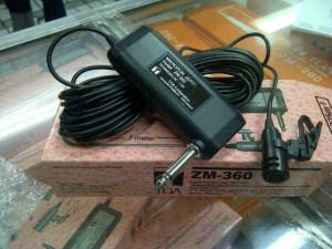 Mic / microphone Toa ZM-360 by Dealer TOA Jakarta