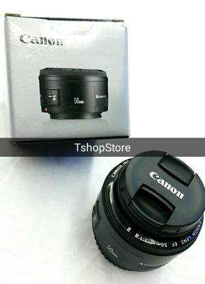 Lensa Fix Canon EF 50mm F/1.8