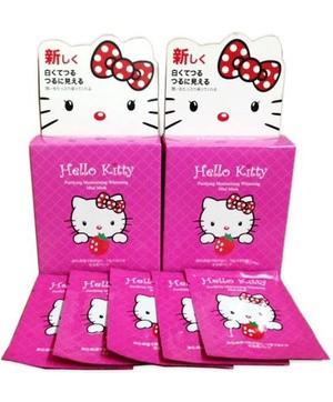Harga gila Masker Lumpur Hello Kitty cuma ! Rp 6.000