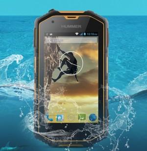 harga Hummer H5 4'' screen android 4.2 dual core 3G Waterproof Ip68 military phone Tokopedia.com