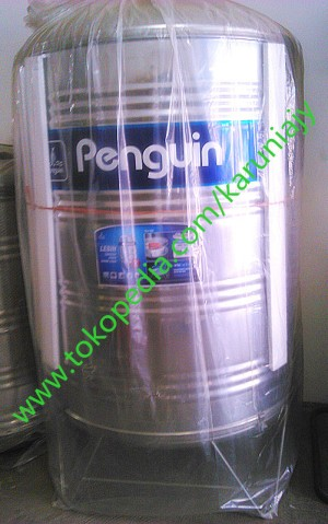 Tangki air Stainless stell ( toren air ) PENGUIN 1000 liter