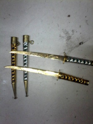 harga Samurai mini berukir razah arab (barang antik dan langka) Tokopedia.com