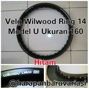 harga Velg Alumunium Ring 14 Ukuran 160 Model U Wilwood Tokopedia.com