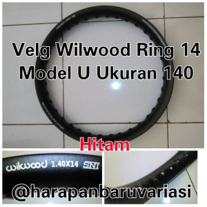 harga Velg Alumunium Ring 14 Ukuran 140 Model U Wilwood Tokopedia.com