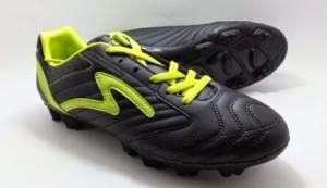Sepatu Bola Specs BRAVE - BLACK/ELECTRICITY