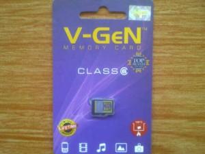 Kartu Memori V-GEN 8GB Baru