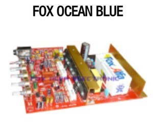 harga fox ocean blue power amplifier with smps psu Tokopedia.com