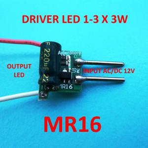 Jual Driver Mr16 Hpl 1 3 X Led 3w Input Ac Dc 12v