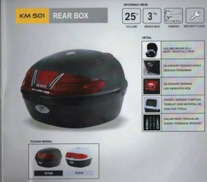 Box Motor KMI 501 / BOX motor Volume Besar Kmi 501
