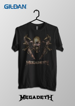 harga Megadeth - Bone Saw Kaos Band Original Gildan Tokopedia.com