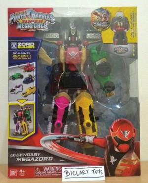 harga Power Rangers Super Megaforce Legendary Megazord Bandai ORI Tokopedia.com