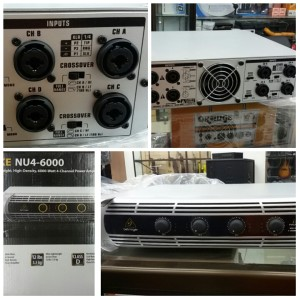 harga Behringer iNuke NU4-6000 Power Amplifier 4 Channel Input Output Tokopedia.com