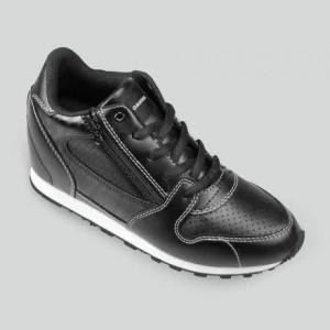 Sepatu Tomkins Woman Darlings Black White (Wedges Tersembunyi)
