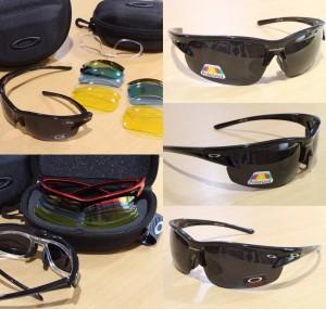 harga Kacamata SPORT Oakley LENSA PISAH 5 in 1 POLARIZED (Bisa Lensa Minus) Tokopedia.com