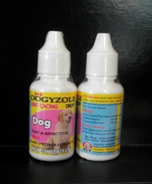 Dogyzole Drop 30ml ( obat cacing anjing )