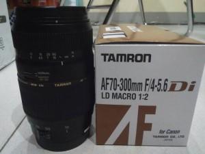 Lensa Tamron 70-300 f/4-5.6 for Canon/Nikon