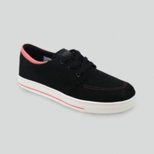 Sepatu Tomkins Woman Focus Black White Pink