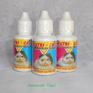 harga Vitamin pertumbuhan bulu kucing NUTRICAT Tokopedia.com