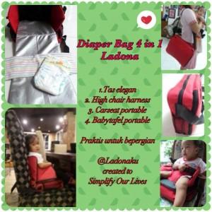 DIAPER BAG 4in1