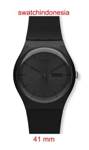 harga Jam Tangan SWATCH ORIGINAL 100% SUOB702 BLACK REBEL murah trendy black Tokopedia.com
