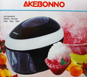 Mesin serut es Akebonno DB 20B