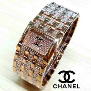 jam tangan cewek / wanita / chanel / rolex / bonia / swiss army