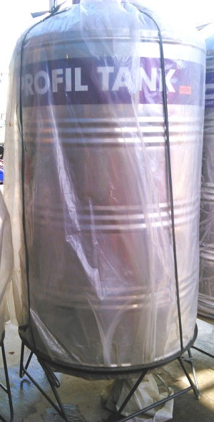 Tangki air Profil tank PS 700 liter / toren / water tank stainless